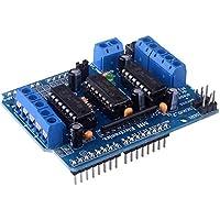 Kuman Controlador de Motor L293D Shield para Arduino Duemilanove Mega UNO Diecimila R3 AVR ATMEL KY58