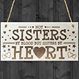 Best Gifts For Sisters - Red Ocean Sisters By Heart Shabby Chic Wooden Review