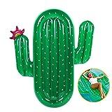 Aufblasbar Luftmatratze Kaktus Riesiger Aufblasbarer schwimmen schwimminsel schwimmreifen Pool Spielzeug Floß Schwebebett wasserspielzeug party kinder erwachsene