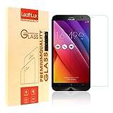 """Protection écran Zenfone 3 ZE520KL, Leathlux [0.26mm] Ultra Clair Verre Trempé Protecteur D'écran Dureté 9H HD Clarté Vitre Tempered Film pour Asus Zenfone 3 ZE520KL 5.2"""""""