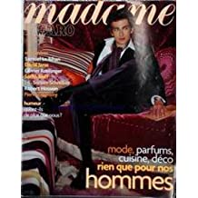MADAME FIGARO [No 18101] du 19/10/2002 - SAMUEL LE BIHAN - OLIVIER ROELLINGER - SACHA SIEFF - DAVID JARRE - J.L. SERVAN-SCHREIBER - ROBERT HOSSEIN - PIERRE GAGNAIRE - MODE HOMMES.