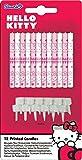 PROCOS Hello Kitty Alrededor Rosa, Color blanco 12pieza(s) - Vela (12 pieza(s))
