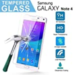 Samsung Galaxy Note 4 Tempered Glass...