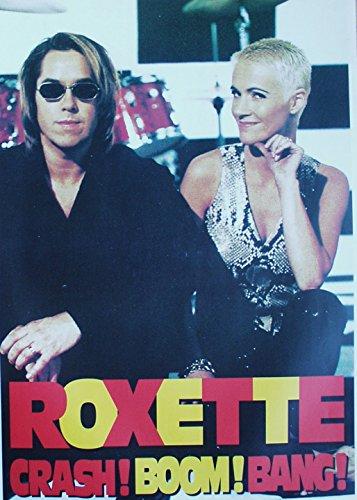Poster Roxette Chrash! Boom! Bang! Format 62 x 86 cm