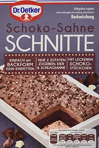 Dr. Oetker Schoko-Sahne Schnitte, 266 g