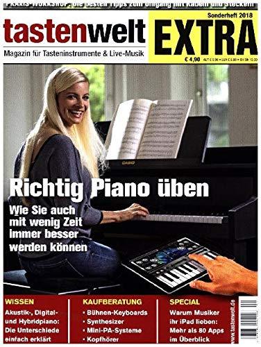 Tastenwelt EXTRA 2018: Richtig Piano üben