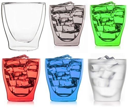Happy Juego: 6x 200ML Vasos Colores * 1x Transparente