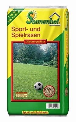 1 Kg Sport + Spiel Rasen Rasensamen Rasensaat Gras Grassaat Sonnenhof von GardenPalms auf Du und dein Garten