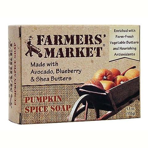 Farmer's Market Natural Bar Soap Pumpkin Spice - 5.5 Oz