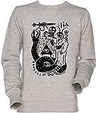 Vendax Yo Culto Unisexo Hombre Mujer Sudadera Jersey Gris Men's Women's Jumper Sweatshirt...