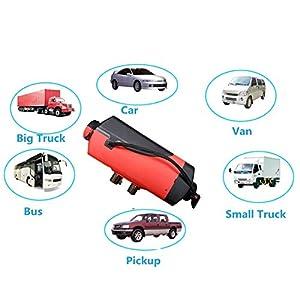 Gaeruite 5KW Air Standheizung fortruck Boot Van Bus Camper 12 V / 24 V 5000 Watt Auto Heizung Diesel für Vans, lkw, RV…