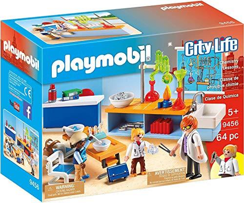 Playmobil Classe de Physique Chimie, 9456