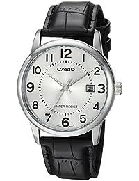 Casio Reloj con movimiento cuarzo japonés Mtp+V002L.7B Negro 40  mm