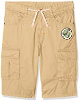 United Colors of Benetton Boy's Bermuda Shorts, Beige, 7-8 Years (Manufacturer Size:Medium)