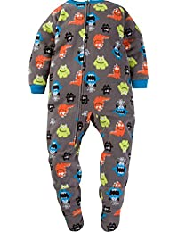 Gerber Schlafanzug Fleece Einteiler Junge Boy warm Weich Winter Reißverschluss