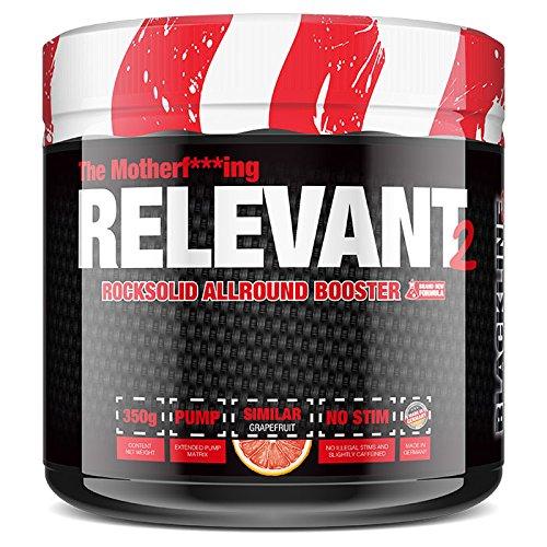 #sinob The Relevant V2 - NEW VERSION Pre-Workout Booster Trainingsbooster Bodybuilding 1 x 350 g (Grapefruit) -