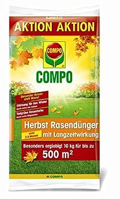 COMPO Herbst Rasendünger mit Langzeitwirkung 10 kg von Compo bei Du und dein Garten