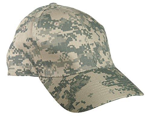 US Army Outdoor Baseball Cap RipStop Cappie Sportcappie Kappe One Size verschiedene Farben (AT-Digital)