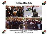 Nelson Mandela Sondermarken für Sammler - Feiern des Lebens und des Todes von Südafrikas erster schwarzer Präsident - Post - Superb Zustand - 2013 / Kongo / 750F