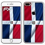 Diseño Pegatina Apple iPhone 7 Plus 'bandera de República Dominicana' Design Skin