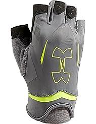 Under Armour Sportswear Handschuhe UA Flux - Guantes de ciclismo para hombre, color gris, talla L