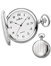 Dugena reloj de pulsera para hombre savonette bolsillos Reloj analógico de cuarzo 4460636