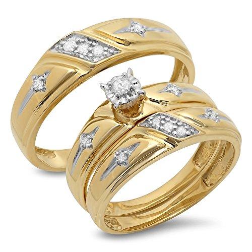 015-quilates-de-quilate-10-k-amarillo-dorado-de-corte-redondo-blanco-diamante-juego-de-novia-trio-an