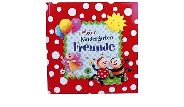 """gebunden Kindergartenfreun /"""" Meine Freunde Buch Marienkäfer Kindergarten /"""""""