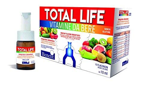 BENEFIT TOTAL LIFE INTEGRATORE ALIMENTARE vitamine da bere
