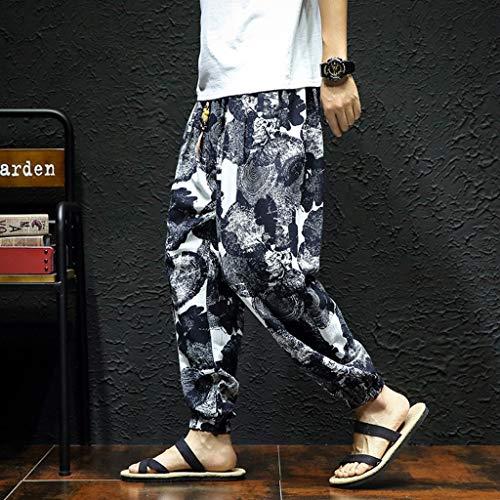 Zoom IMG-1 she white harem pantaloni da