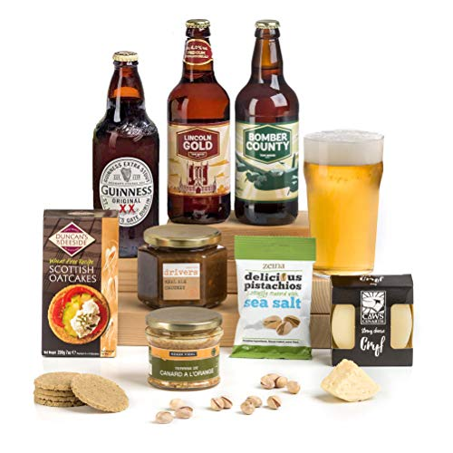 Hay Hampers Pub Lunch Hamper Box Christmas Gift for Him - FREE UK Delivery