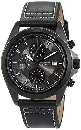Swiss Military Herren-Armbanduhr Bennett Chrono Analog Quarz SM33786AEU/H03TXS