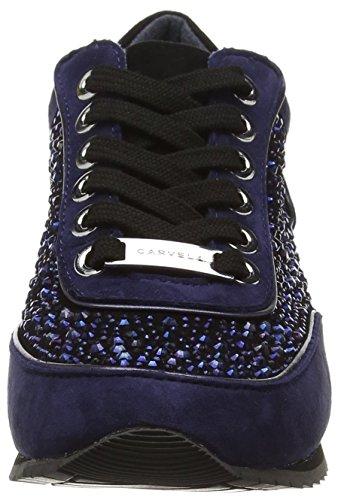 Carvela Lemmy, Baskets Basses Femme Bleu - Bleu (Bleu)