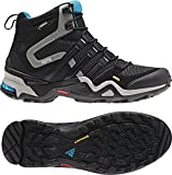 Adidas Schuhe Outdoor Bekleidung TERREX FAST X HIGH GTX Damen carbon/black, Größe Adidas:6