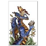 Tree Free Grußkarten 64582 12 Count-Lesezirkel Lesung Karteikarten-Set