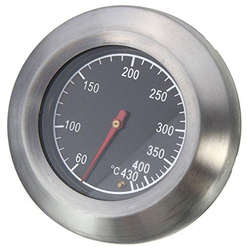 Tutoy Edelstahl Thermometer Barbecue Grill Rauchergrill Temperaturmessgerät 60-430