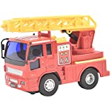 IGP Mini Truck Series Mini Fire Rescue Truck Friction Toys For Kids