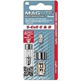 Maglite 1 BOMB.Mag-num Star II Xenon 5DC - Bombilla de acampada y senderismo