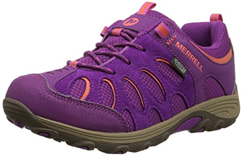 Merrell Chameleon Low Lace, Jungen Outdoor Fitnessschuhe Orange