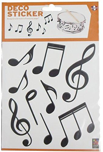 PLAGE 156004 Adhesivos decoración-Notas música 2