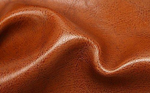 PDFGO Taschen-Beutel-Öl-Wachs-Leder-beweglicher Schulter-Kurier-Beutel-Art Und Weise Einfaches Großes Beutel-großes Paket E