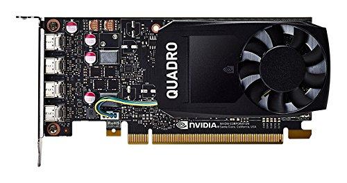 PNY VCQP1000DVI-PB Nvidia Quadro P1000 Grafikkarte (4GB GDDR5)