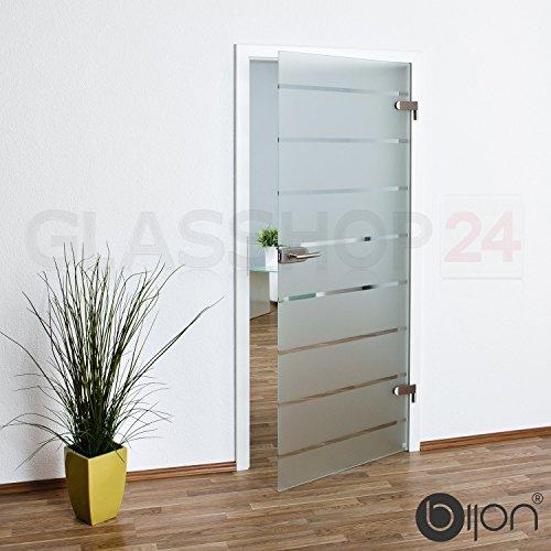 bijon® Glastür T5 | Studio/Studio | 834x1972mm | DIN Rechts