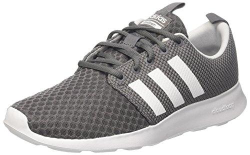 adidas Herren Cloudfoam Swift Racer Laufschuhe, Grau (Grey Four/Core Black/Footwear White 0), 42 EU (Herren Grau Sportschuhe)