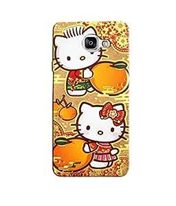 Citydreamz Hello Kitty/Cartoon/Dots/Cute Design Hard Polycarbonate Designer Back Case Cover For Samsung Galaxy A7 2016 Edition/Samsung Galaxy A710