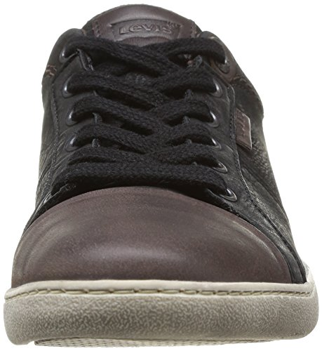 Levi's Tulare Pt Toe Cap Low Lace, Baskets mode homme Noir (59)