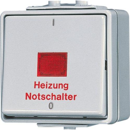 Jung 602HW Heizung-Notschalter aus 2-polig -