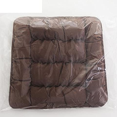 HDWN Trapezoidal silla de comedor cojines madera taburete almohada estudiante tela simple mesa occidental cuatro estaciones patina banco cojines , e , trapezoidal 38x42x45