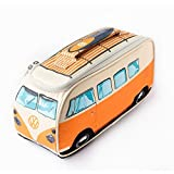 Volkswagen T1 Bus Lunchbox mit Thermofunktion in orange - VW Bulli Vesperdose Brotdose Kühltasche Vesperbox