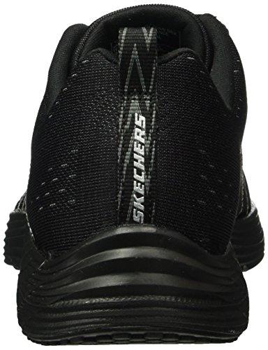 Skechers Valeris, Baskets Basses Femme Noir - Noir